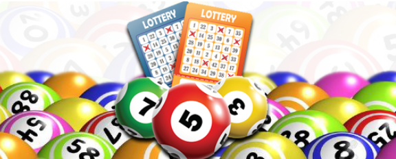 Online lottery game play